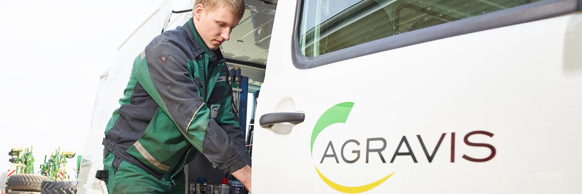 AGRAVIS Service vor Ort
