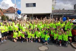 Gruppenbild der AGRAVIS-Gesundheitsläufer