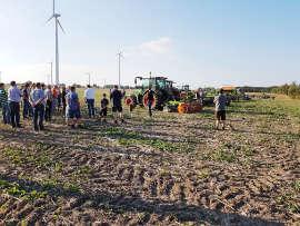 Feldabende Amazone AGRAVIS Technik Weser-Aller