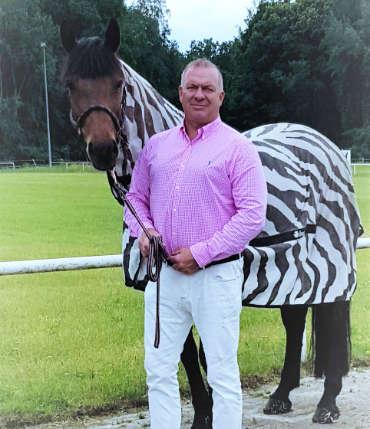 Jens Lyke Pferd Zebralook