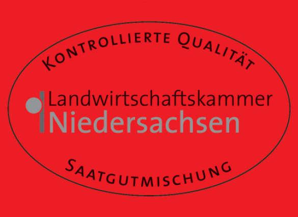 Qualitätssiegel Landwirtschaftskammer Niedersachsen Saatgut