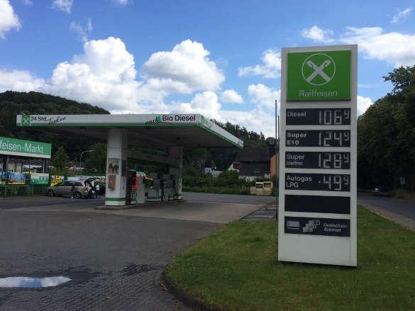 Raiffeisen-Tankstelle Arnsberg-Hüsten