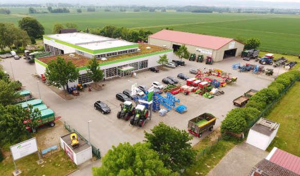 AGRAVIS Technik Weser-Aller GmbH, Barsinghausen-Göxe, Luftbild