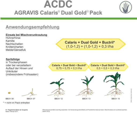 Pflanzenschutz Mais