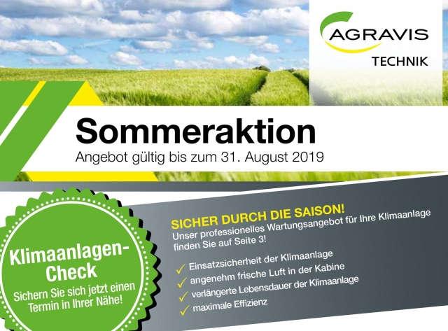 Sommeraktion Technik 2019 Teaser Broschüre