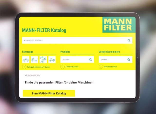 MANN Filter Katalog