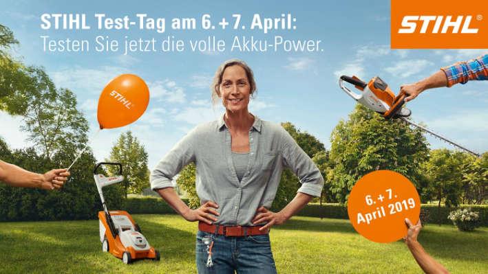 Münsterland Ems Stihl Testtage April 2019